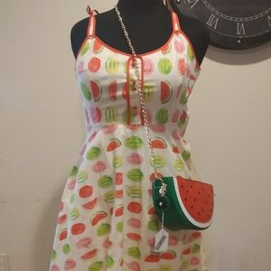 ModCloth Watermelon Pattern Dress